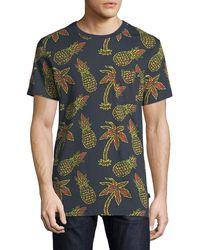 Wesc - Men's Maxwell Pineapple Graphic T-shirt - Lyst