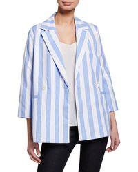 English Factory - Relaxed Stripe Blazer - Lyst