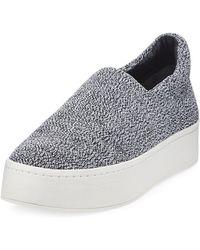 Vince - Walsh Knit Slip-on Sneakers - Lyst