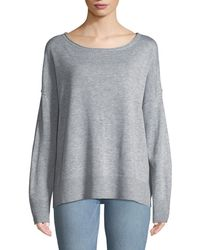 NYDJ - Drop-shoulder Pullover Sweater - Lyst