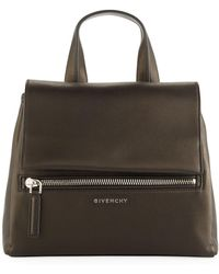 Givenchy - Pandora Pure Small Leather Satchel Bag - Lyst