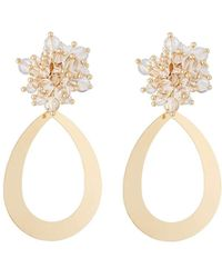 Lydell NYC - Lucite® Cluster Drop Earrings - Lyst