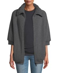 Brunello Cucinelli - English Ribbed Zip-up Cashmere Cardigan - Lyst