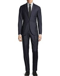 Brunello Cucinelli - Men's Prince Of Wales Two-piece Wool Suit - Lyst