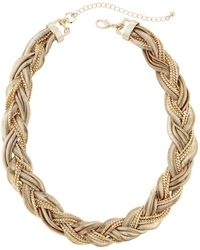 Lydell NYC - Torsade Chain Necklace - Lyst