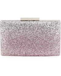 Sondra Roberts - Ombre Glitter Evening Box Clutch Bag - Lyst