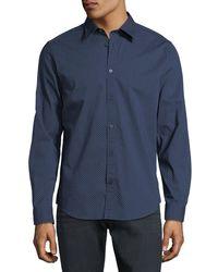 Ben Sherman - Textured Spot Sport Shirt - Lyst