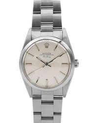 Rolex - Pre-owned Men's 34mm Air-king Bracelet Watch - Lyst