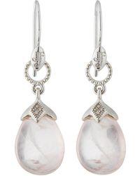 Jude Frances | 18k Lisse Pear Briolette Earrings | Lyst