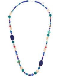 Nakamol - Chunky Beaded Stone Necklace - Lyst