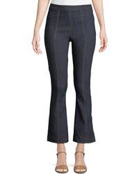 Cinq À Sept - Tinsley Side-zip Flare-leg Jeans - Lyst