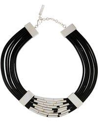 Lafayette 148 New York - Multi-strand Leather Choker Necklace - Lyst