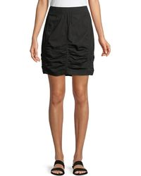 XCVI - Tammy Lace-up Side Mini Skirt - Lyst