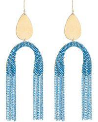 Serefina Upside-down Fringe Earrings