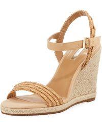 Tahari - Walsh Studded Wedge Sandal - Lyst