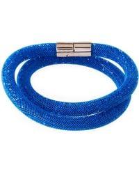Swarovski - Stardust Convertible Crystal Mesh Bracelet/choker - Lyst