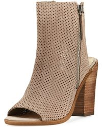 Dolce Vita - Noraly Perforated Dress Bootie - Lyst