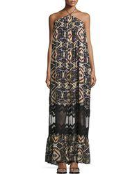 Tryb - Cecilia Sleeveless Maxi Dress - Lyst