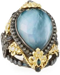 Armenta - Old World Triplet & Mixed-stone Ring Size 7 - Lyst