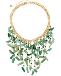Lydell NYC - Statement Bib Necklace - Lyst