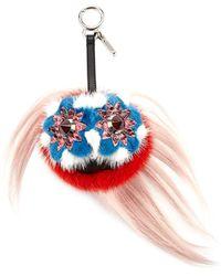 Fendi - Blossy Bag Bugs Charm For Handbag - Lyst