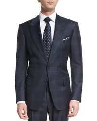 Tom Ford - Windsor Base Over-plaid Two-piece Suit - Lyst