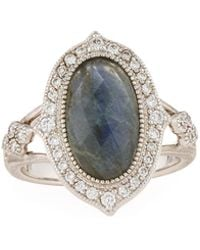 Jude Frances - 18k Moroccan Doublet Oval Ring - Lyst