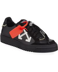 02caf060db5f Lyst - Off-White c o Virgil Abloh Camouflage-embossed Leather ...