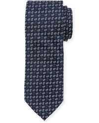 Neiman Marcus - Boxed Pine-print Silk Tie - Lyst
