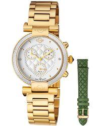 Gv2 - 37mm Berletta Quilted Diamond Bracelet Watch - Lyst
