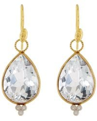 Jude Frances - 18k Provence Large Pear Earrings - Lyst