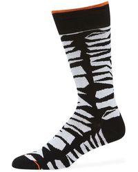 Bugatchi - Men's Abstract Socks - Lyst