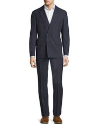 Brunello Cucinelli - Wool-cloth Check Suit - Lyst