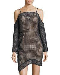 Keepsake - Easy Love Lace Mini Dress - Lyst