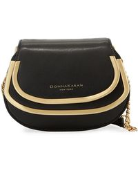 Donna Karan - Sol Calf Leather Clutch Bag - Lyst
