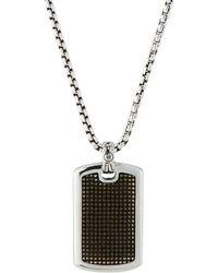 John Hardy - Men's Classic Chain Jawan L Dog Tag Necklace 26l - Lyst