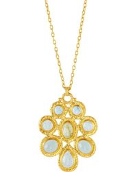 Gurhan - One-of-a-kind 24k Cluster Pendant Necklace - Lyst