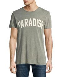 Antony Morato - Men's Acid-wash Typographic Tee - Lyst
