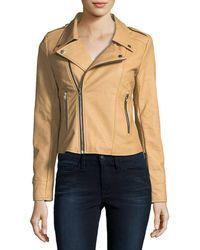 Goldie London - Faux-leather Biker Jacket - Lyst
