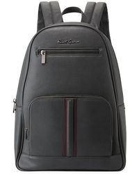 c639e9af2064 Lyst - Michael Kors Rhea Mini Perforated Leather Backpack in Black