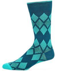 Bugatchi - Men's Argyle Socks - Lyst