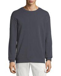 Vince - Side-zip Sweatshirt - Lyst