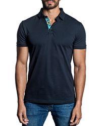 Jared Lang - Men's Short-sleeve Knit Polo Shirt - Lyst