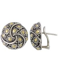 John Hardy - Jaisalmer Round Twirl Earrings - Lyst