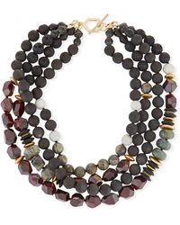 Akola - Four-strand Beaded Necklace - Lyst