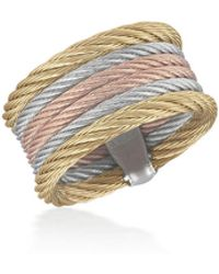 Alor - Classique Multi-row Micro-cable Band Ring Size 7 - Lyst