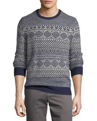 Original Penguin - Lambswool Blend Sweater - Lyst