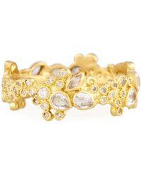 Armenta - Sueño 18k Cluster Diamond Stack Ring - Lyst