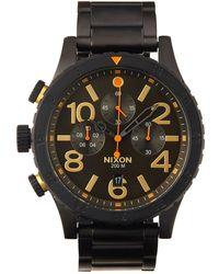 Nixon - 48-20 Chrono Bracelet Watch - Lyst