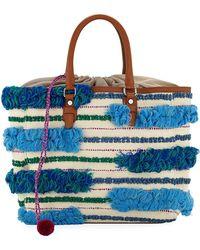 Sam Edelman - Gina Multicolor Canvas Tote Bag - Lyst